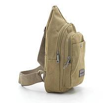 Мужская сумка 9006 коричневая, фото 2
