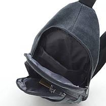 Мужская сумка 9006 коричневая, фото 3