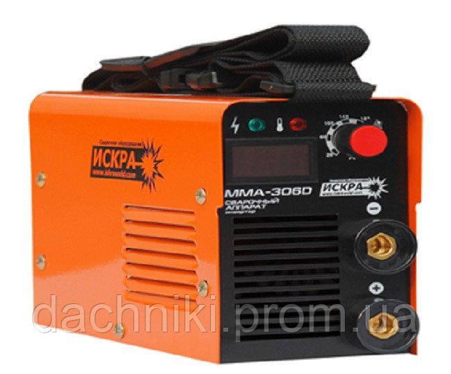 Сварочный инвертор Искра MMA-306D (дисплей)
