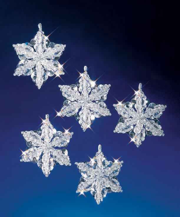 """Набор бисероплетения """"Snow Crystals//Снежные кристалы"""" The Beadery"""