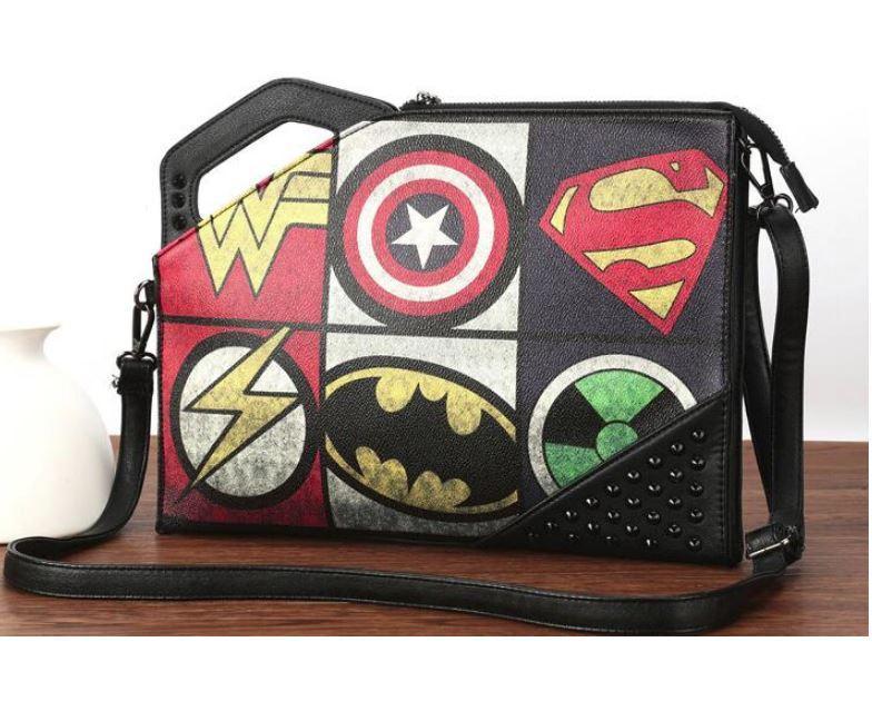 """Чоловіча сумка-клатч з заклепками """"Marvel"""""""