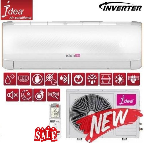 Кондиционер- IDEA PRO Brilliant Inverter New (-21°C) IPA-09HRFN1 ION