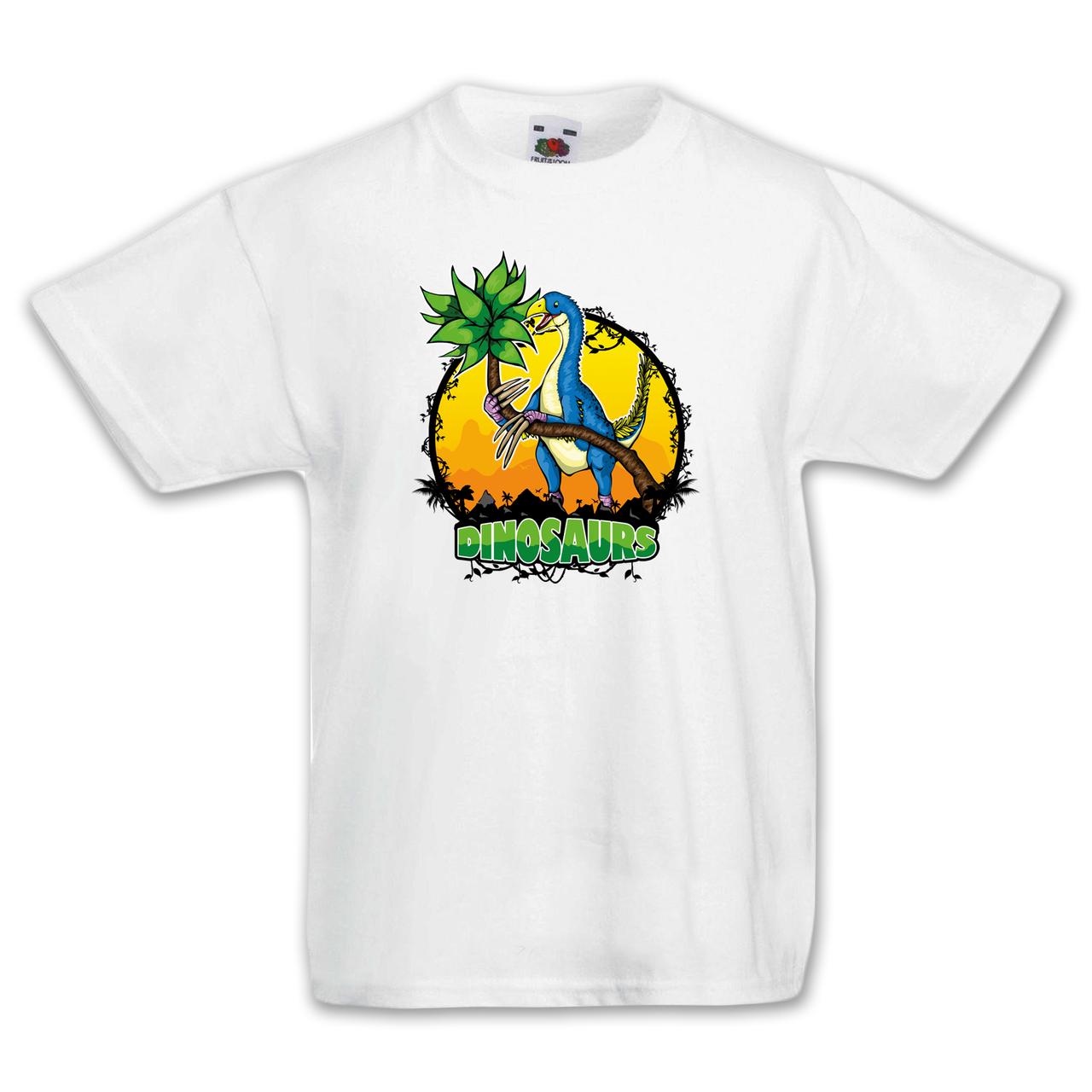 """Футболка детская с динозаврами  """"Теризинозавр"""""""