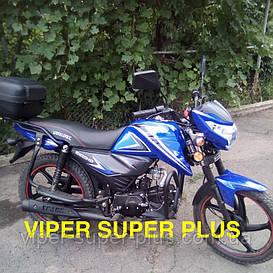 Мотоцикл СПАРК с Доставкой Spark SP125C-2C 125 см³, Синий, (Альфа, новый дизайн), Двухместный Дорожный
