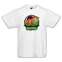 """Футболка детская с динозавром  """"Спинозавр"""""""