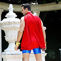 Костюм непобедимого Супермена в Сексе L/XL