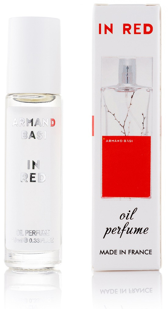 Масляный шариковый парфюм Armand Basi In Red женские - 10 мл