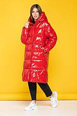 Зимняя теплая куртка KTL-323 из новой коллекции KATTALEYA красного цвета, фото 2