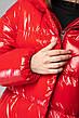 Зимняя теплая куртка KTL-323 из новой коллекции KATTALEYA красного цвета, фото 3