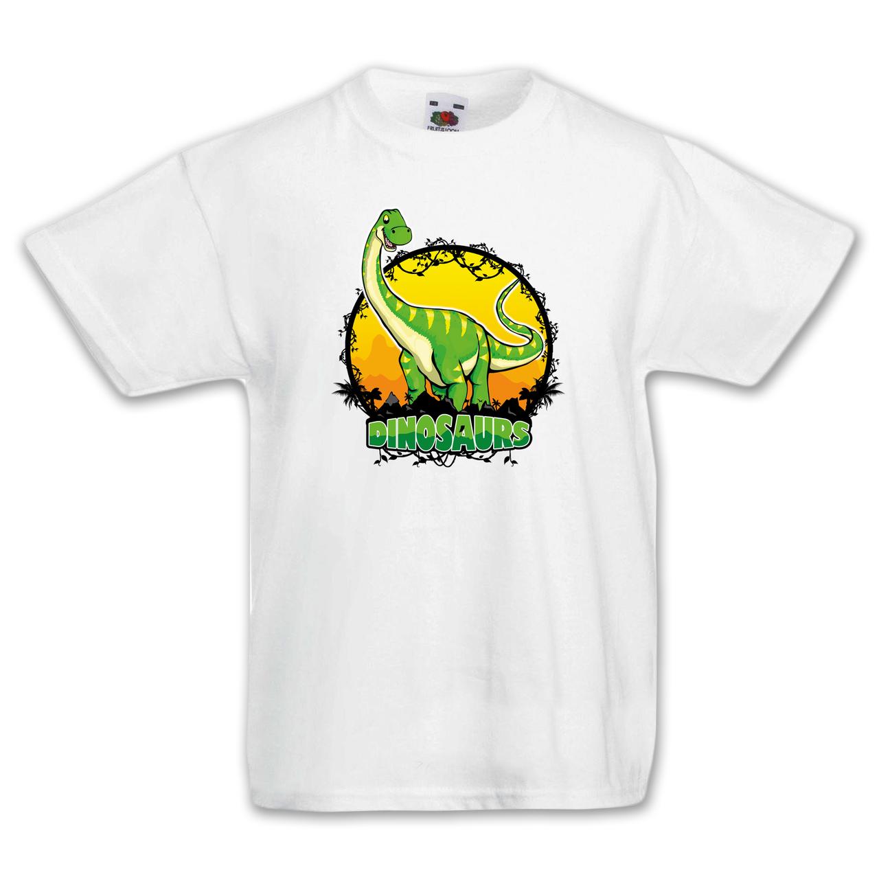 """Футболка детская с динозавром  """"Диплодок"""""""