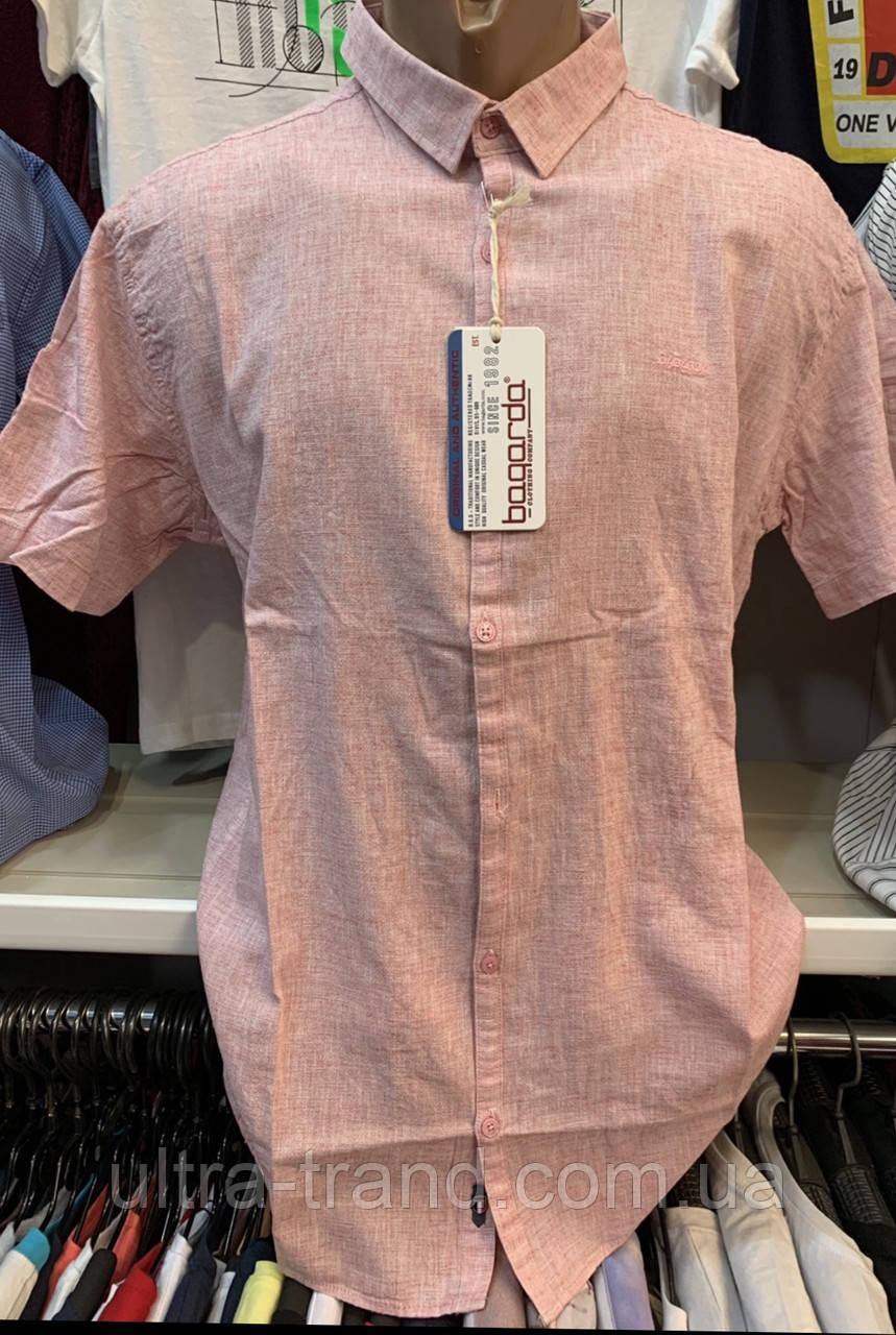 Мужские качественные турецкие льняные летние рубашки Bagarda