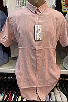 Мужские качественные турецкие льняные летние рубашки Bagarda, фото 1