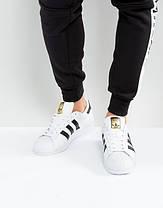 Женские кроссовки Adidas Superstar Cloud White/Core Black C77124, Адидас Суперстар, фото 2