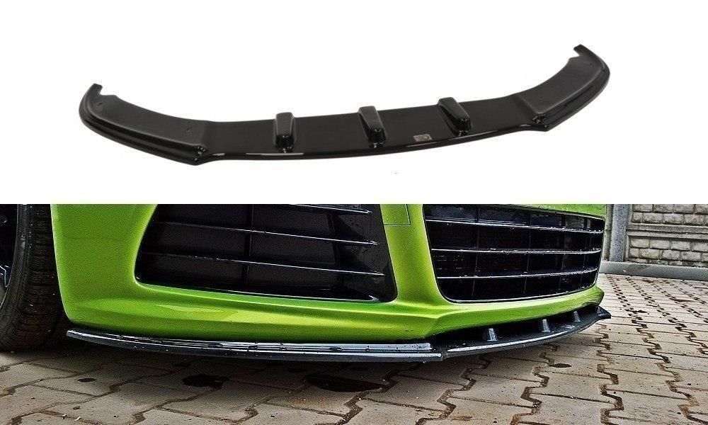 Сплиттер VW Scirocco R тюнинг элерон переднего бампера