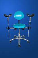 Стул медицинский Ст-5, стул лабораторный для работы с микроскопом