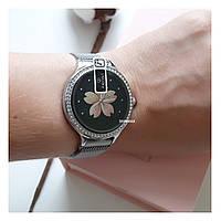 Смарт часы M8 миланская петля серебро IP68 (водонепроницаемые) женские