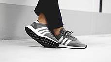 Мужские кроссовки Adidas Iniki I-5923 Runner Boost Grey BB2089, Адидас Иники Ранер I-5923, фото 3