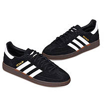 Мужские кроссовки Adidas Handball Spezial Core Black/Cloud White/Gum DB3021, Адидас Специал, фото 3