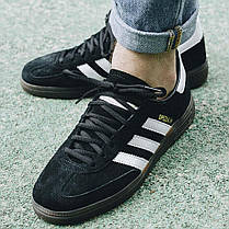Мужские кроссовки Adidas Handball Spezial Core Black/Cloud White/Gum DB3021, Адидас Специал, фото 2