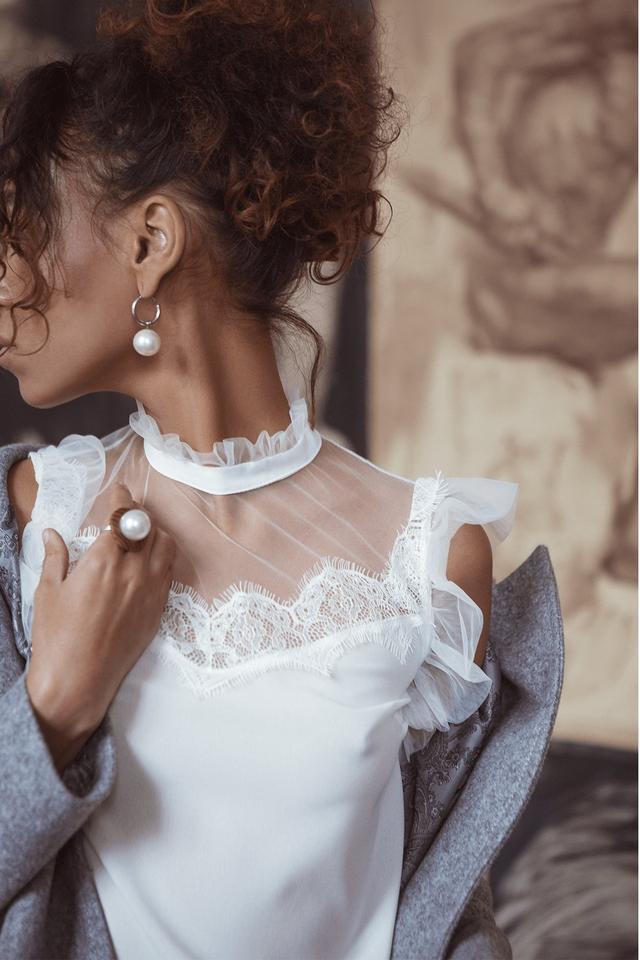 Фото-1 Женской блузы без рукавов Вербена
