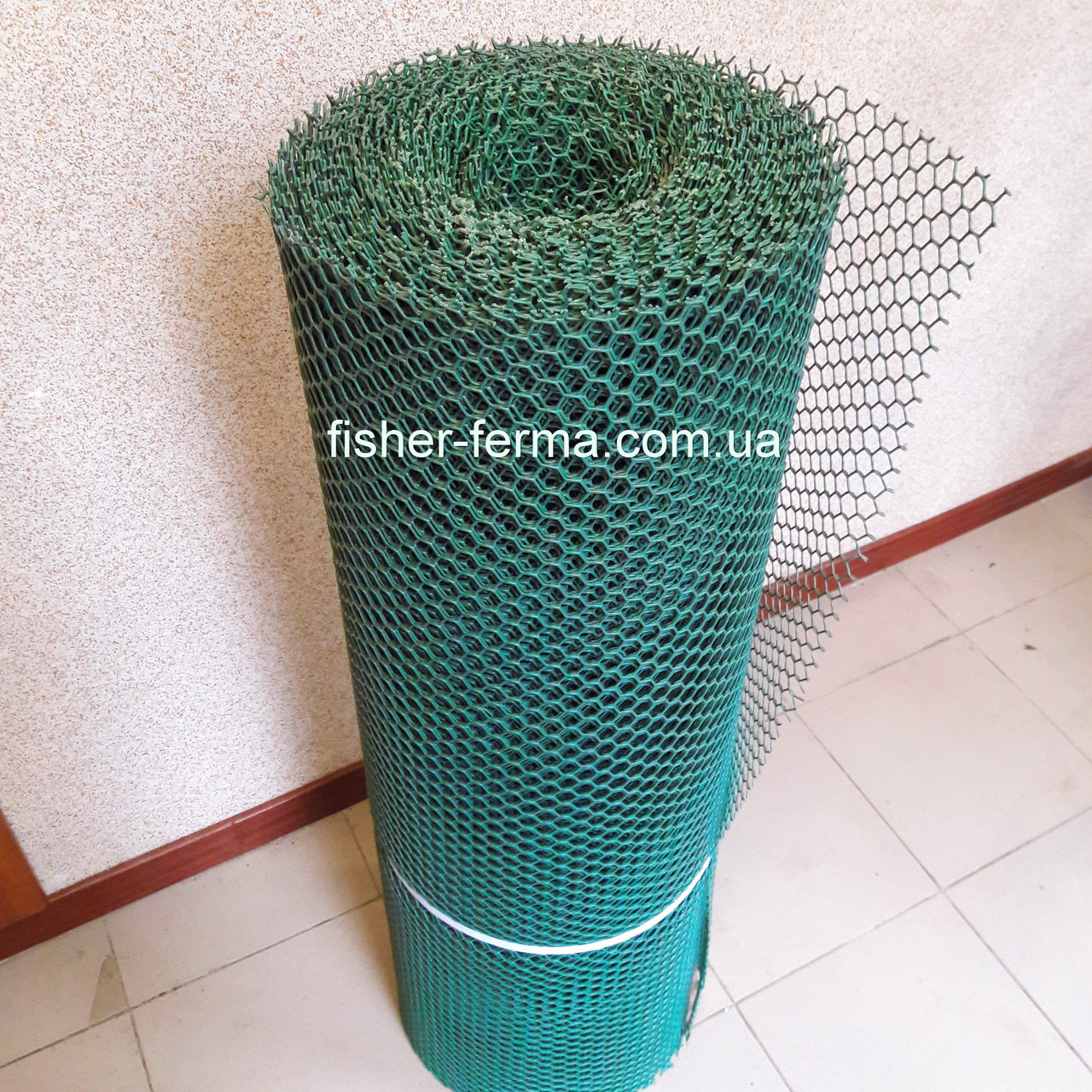 20х20х2мм - пластиковая сетка  (1х25 метров) - для ограждений
