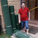 20х20х2мм - пластиковая сетка  (1х25 метров) - для ограждений, фото 2