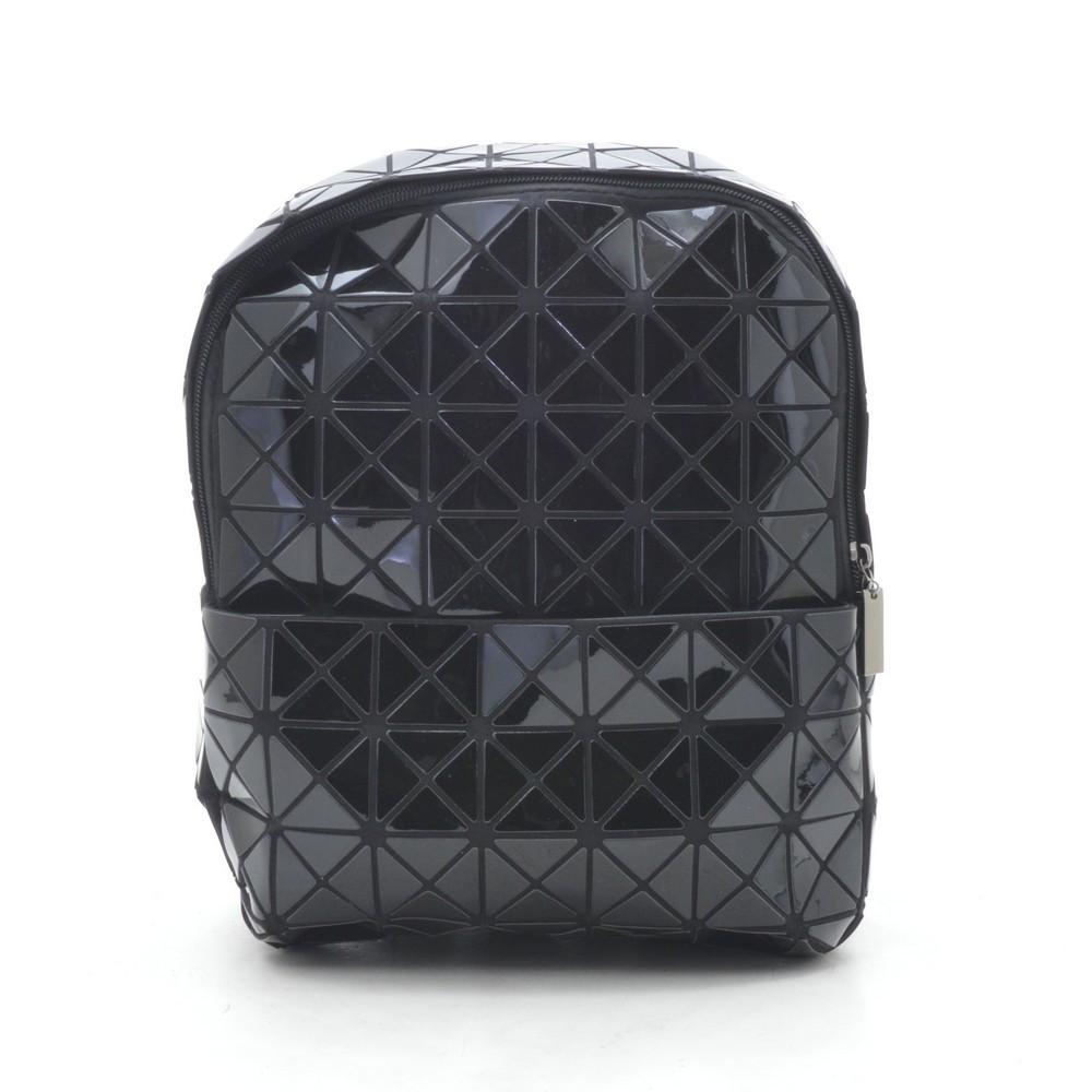 Рюкзак 1306-1 черный(лак)