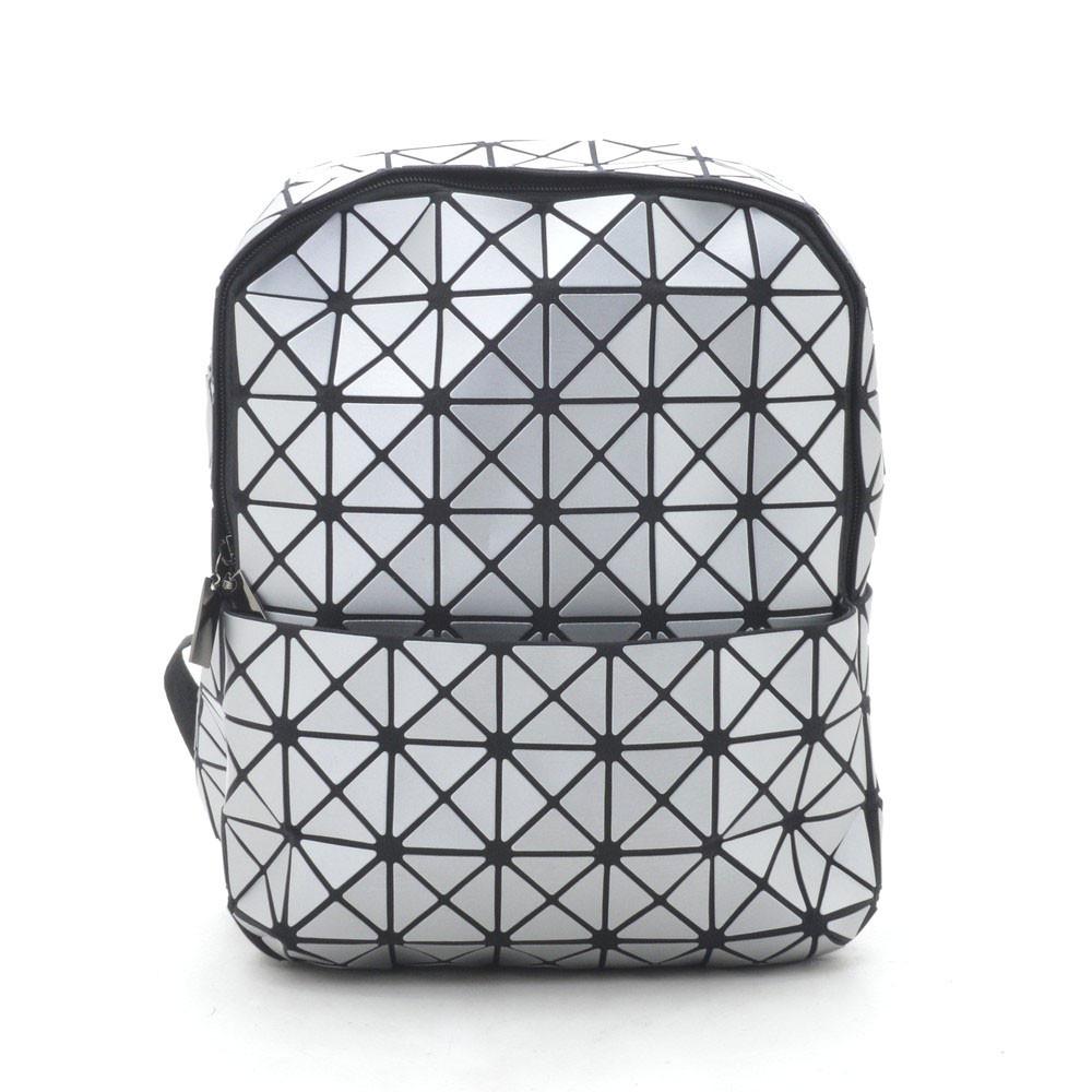 Рюкзак 1306-1 серый(матовый)