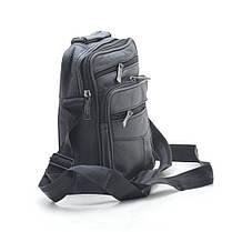 Мужская сумка 7002-3 черная, фото 2