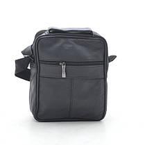 Мужская сумка 7002-3 черная, фото 3