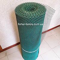 20х20х2мм - пластиковая сетка  (1х20 метров) - для ограждений