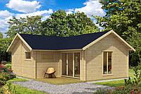 Дом деревянный из профилированного бруса 6.8х7.8. Скидка на домокомплекты на 2020 год