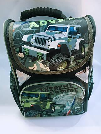 Рюкзак жесткий ортопедический школьный каркасный, фото 2
