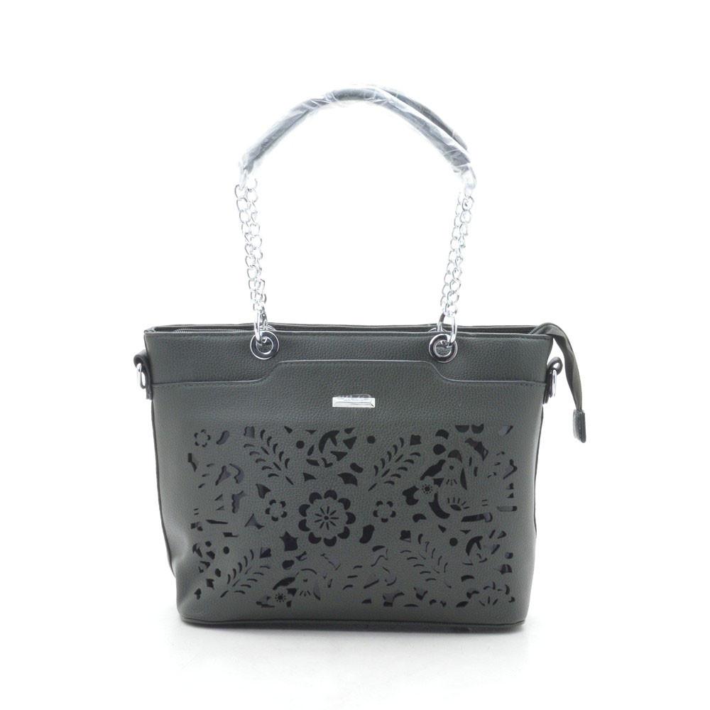 Женская сумка 7559 болотная