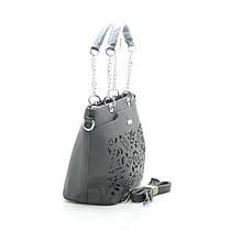 Женская сумка 7559 болотная, фото 3
