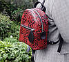 111-3 Натуральная кожа Городской рюкзак Кожаный рюкзак Из натуральной кожи Рюкзак женский черный рюкзак черный, фото 4