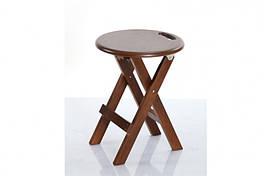 Табурет трансформер Микс мебель Смарт Т-69 Орех раскладной кухонный обеденный