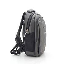 Рюкзак 868 серо-зеленый, фото 3