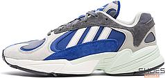 Мужские кроссовки Adidas Yung-1 Gray Navy AQ0902, Адидас Янг 1