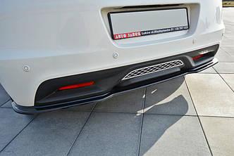 Диффузор заднего бампера юбка сплиттер тюнинг Honda CR-Z