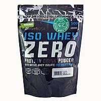 Протеин BioTech Iso Whey Zero 500 г ваниль-булочка с корицей