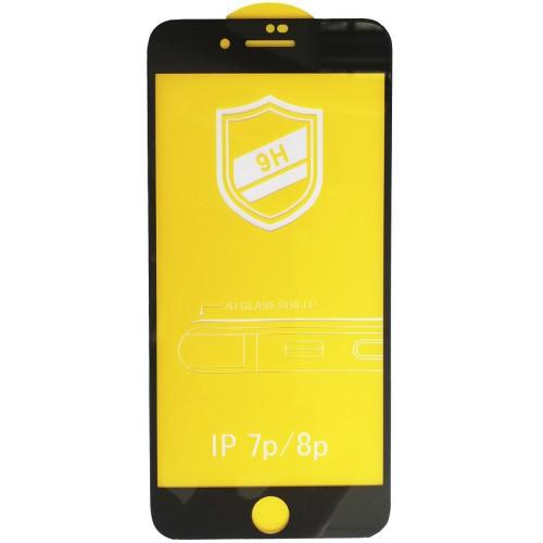 Защитное 3D стекло для iPhone 8 Plus Black / 7 Plus / 3Д