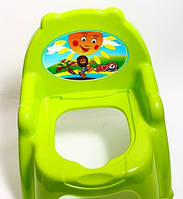Детский горшок - кресло с крышкой ТехноК 4074 зеленый | горшок для ребенка, фото 1