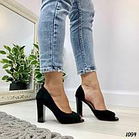 Женские туфли черные Hert1094