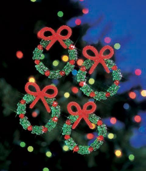 """Набор бисероплетения """"Holiday Wreaths//Праздничные веночки"""" The Beadery"""