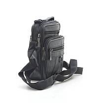 Мужская сумка 8005 черная, фото 2