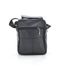 Мужская сумка 8005 черная, фото 3