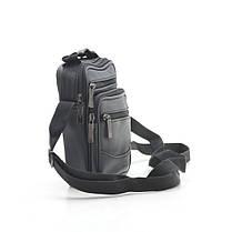 Мужская сумка 8029-2 черная, фото 2