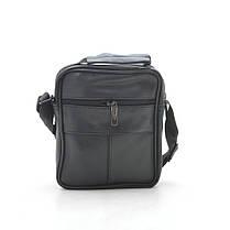 Мужская сумка 8029-2 черная, фото 3