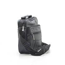 Мужская сумка 8006 черная, фото 2